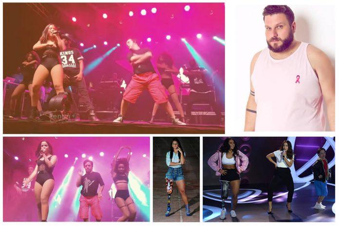 Bailarinos de Anitta plus size, cadeirante e paratleta com síndrome de down conquistam o público