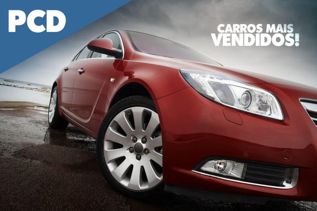 Carros mais vendidos para PCD